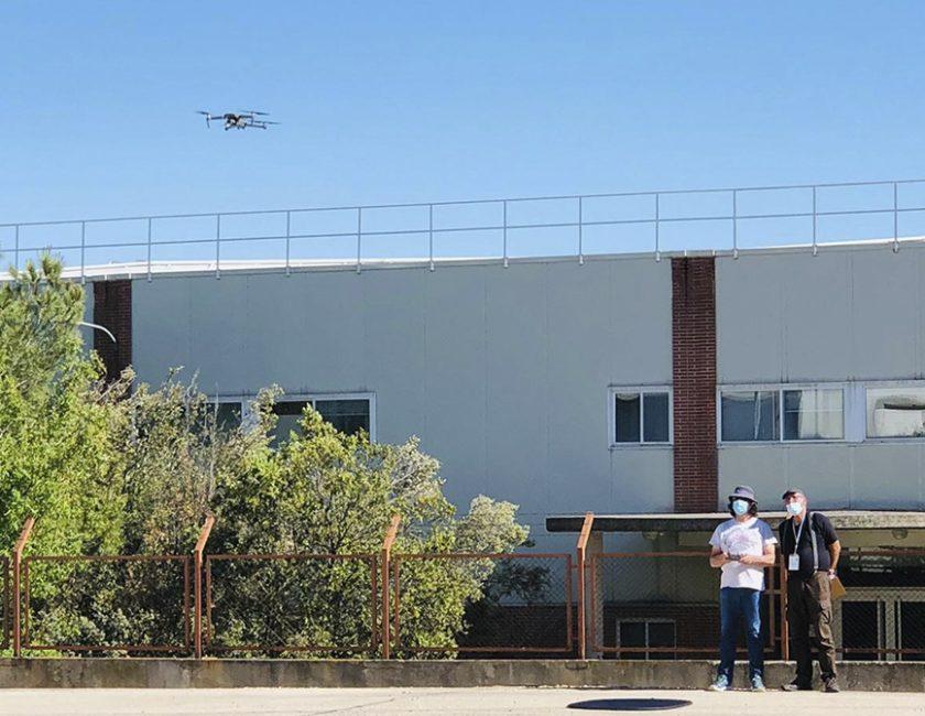 vuelo Dron MFD 2
