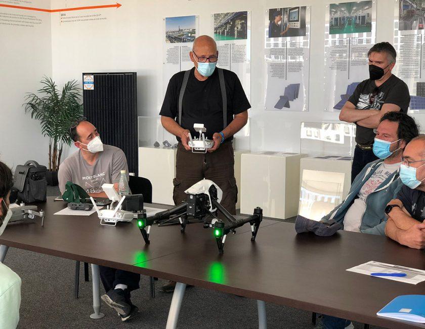 vuelo Dron MFD 4